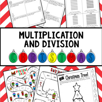 Christmas Multiplication and Division