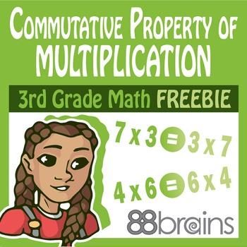 Properties of Mult. & Division FREEBIE: Commutative Prop. of Multiplication