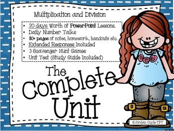 Multiplication and Division Complete Unit