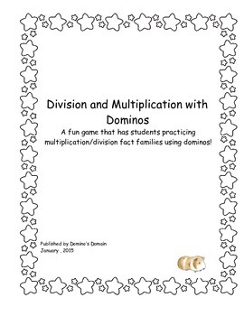 Multiplication and Division Dominos
