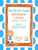 Multiplication and Division - Error Analysis - Gr. 5/6