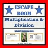 Multiplication and Division Escape Room (5.NBT.5 & 5.NBT.6)