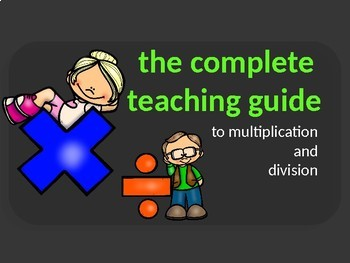 Multiplication and Division (Explicit Teaching and Activities Resource)
