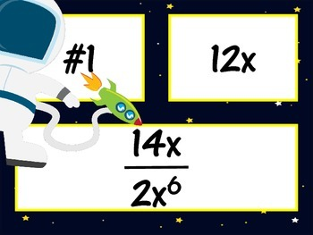 Multiplication and Division Exponent Rules 8-EE1