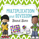 Multiplication and Division Facts: Board Game