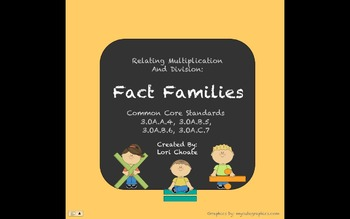 Multiplication and Division: Fact Families