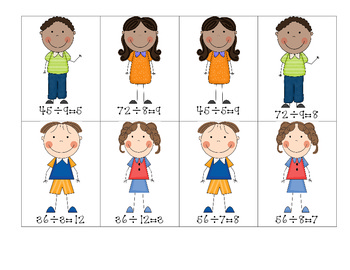 Multiplication and Division Fact Families 3.OA.3