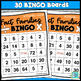 Multiplication and Division Fact Families BINGO