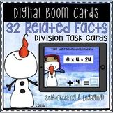 Multiplication and Division Fact Families Boom Cards