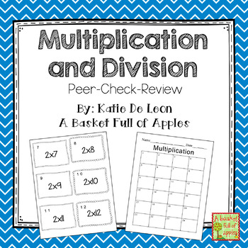 Multiplication and Division Fact Families Bundle: Cooperat
