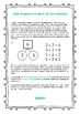 Multiplication and Division Fact Families Template