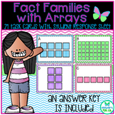 Multiplication and Division Fact Families with Arrays - TEKS 3.4D, 3.4F, 3.4J