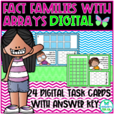 Multiplication and Division Fact Families with Arrays **Digital**