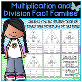Multiplication and Division Fact Families with Missing Fac