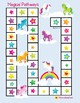 Multiplication and Division Fact Family Board Games BUNDLE