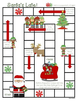 Multiplication and Division Fact Family Board Games (SET 4)