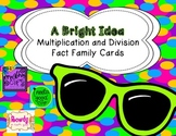 Multiplication and Division Fact Family Cards