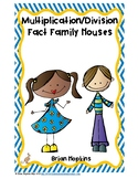 Multiplication and Division Fact Family Houses