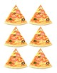 Multiplication and Division Fact Family Pizza