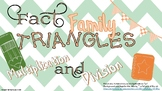 Multiplication and Division: Fact Family Triangles!
