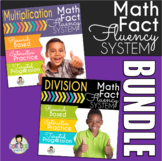 Math Facts Fluency Activities Multiplication and Division Kit