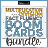 Multiplication and Division Fact Fluency Mega Bundle | Boo