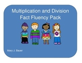 Multiplication and Division Fact Fluency Packet