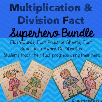 Multiplication and Division Fact Hero - fact practice, tra