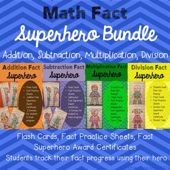 Math Fact Hero - Addition, Subtraction, Multiplication, Division