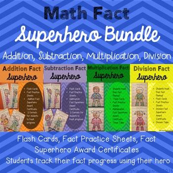 Math Fact Hero - Addition, Subtraction, Multiplication, Di
