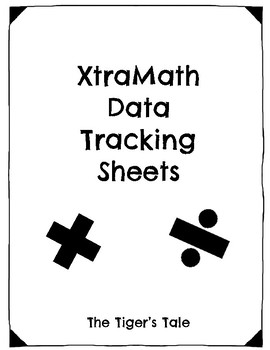 Multiplication and Division Fact Mastery Tracking