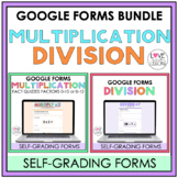 Multiplication and Division Fact Quizzes / Google Forms