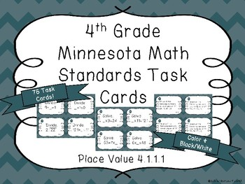Multiplication and Division Fact Task Cards
