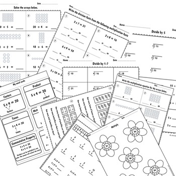 Multiplication and Division Facts | Distance Learning