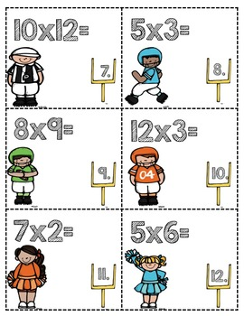 Multiplication and Division Facts Bundle