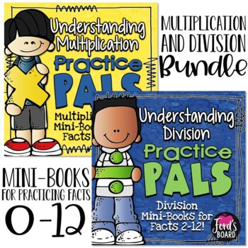 Multiplication and Division Bundle | Practicing Strategies and Building Fluency