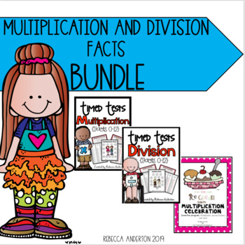 Multiplication and Division Facts Growing Bundle