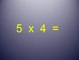 Multiplication and Division Fact's: Quizzes, Power Points, and Student Logs