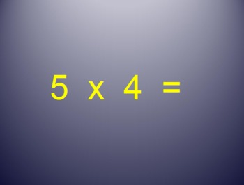 Multiplication and Division Fact's: Quizzes, Power Points,