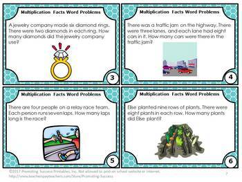 Multiplication and Division Word Problems, Multiplication and Division Games
