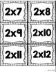 Multiplication and Division Flash Cards BUNDLED