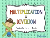 Multiplication and Division Flash Cards DEMO
