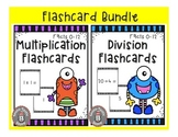 Multiplication and Division Flashcards - Bundle