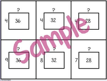 Multiplication and Division Facts | Flip-it Flash Cards