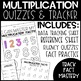 Multiplication and Division Fluency Practice, Quizzes, and Tracker