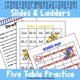 Multiplication and Division Game: 5 Table