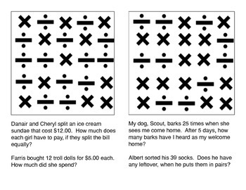 Multiplication and Division Game:  Choose the correct operation