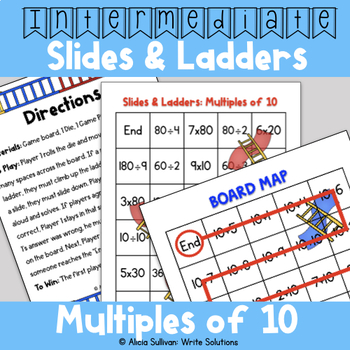 Multiplication and Division Game: Multiples of 10