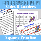 Multiplication and Division Game: Squares