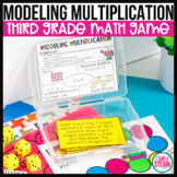 Modeling Multiplication & Division 3rd Grade Math Game